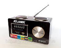 Радиоприемник цифровой Atlanfa AT-8931 (ПДУ, USB, SD), фото 1