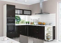 Кухня София Градо, черный орех