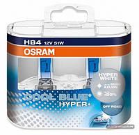 OSRAM COOL BLUE HYPER+ ☀ 5000K ✔ тип лампы HB4 ✔ 2 шт