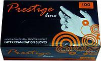 Перчатки латексные Prestige line 100 шт/уп L