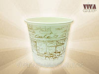 Бумажные стаканчики с рисунком 110 мл (2500 шт. в ящике)