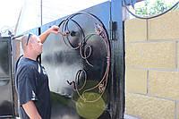 Изготовим ворота кованые, сварные Днепропетровск, фото 1