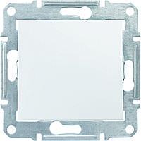 SHNEIDER ELECTRIC SEDNA Выключатель проходной одноклавишный IP44 Белый
