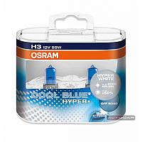 OSRAM COOL BLUE HYPER ☀ 5000K ✔ тип лампы H3 ✔ 2 шт