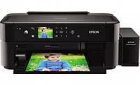 Принтер Epson L810 с  СНПЧ и чернилами Lucky Print