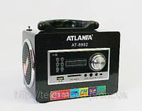 Радиоприемник цифровой  Atlanfa AT-8992    (ПДУ, USB, SD), фото 1