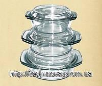 Термостойкая посуда набор (0.7л+1л. +1.5л. ) DEKOK GW-711CD