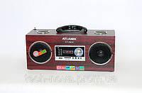 Радиоприемник цифровой Atlanfa AT-8806 (ПДУ, USB, SD, FM), фото 1