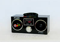 Радиоприемник цифровой Atlanfa AT-8805 (ПДУ, USB, SD, FM), фото 1