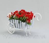 Подставка для цветов Тачка Малая Кантри, фото 1