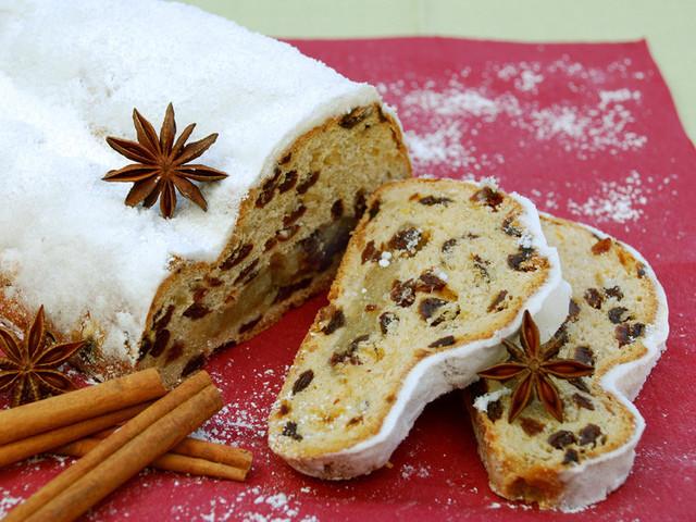 Штоленн - рождественский кекс с пряностями, рецепт