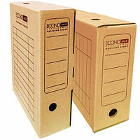 """Бокс архивный """"Economix"""" 80 мм."""