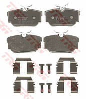 Колодки задние дисковые VW TRANSPORTER T4 1.8-2.5TDI 90-03 без датчика 701698451