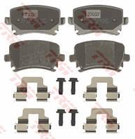 Колодки задние дисковые AUDI A4,A6 05-,VW GOLF 5,PASSAT B6,TIGUAN;SKODA OCTAVIA A5 1.4TSI-2.0TDI 07-