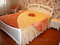 """Дизайнерское покрывало на кровать """"Ракушки"""""""