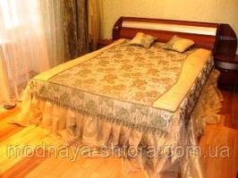 """Дизайнерское покрывало на кровать """"Романтика"""""""