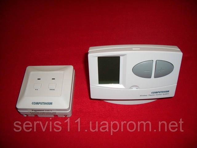 Радиоуправляемий терморегулятор Climat STUDIO Q7 RF + Подставка