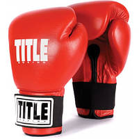 Универсальные боксерские перчатки TITLE Boxing Eternal Pro Training