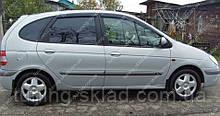 Вітровики вікон Рено Сценік 1 (дефлектори бокових вікон Renault Scenic 1)