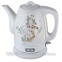 Чайник керамический Mirta KTT 21 (чайник электрический керамический)