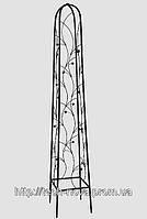Опора для садовых растений К 02 кованая (высота 165см, ширина стороны 30см)
