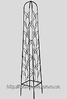 Опора для садовых растений К 03 кованая  (высота 165см, ширина стороны 30см)