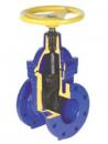 Задвижка с обрезинненым клином для газа JAFAR 2311