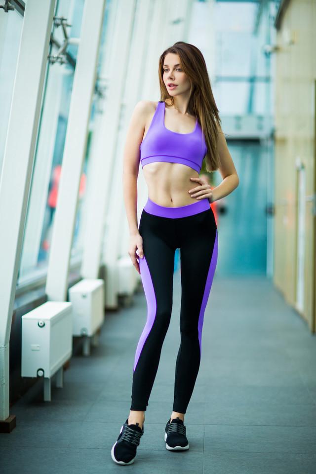 Basic Lavender леггинсы для фитнеса Designed For Fitness - шоу-рум на Театральной, 0937555561