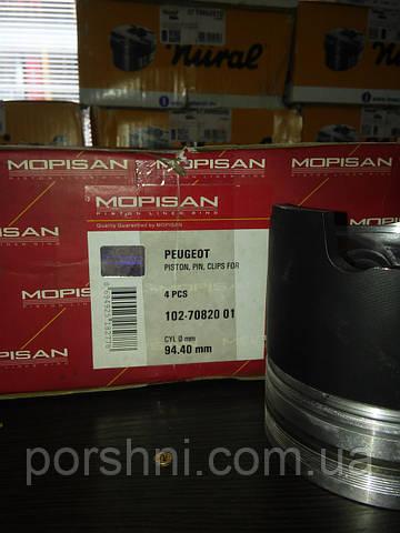 Поршневая  94 + 0.40 Scorpio 2.5 TD  DAF  3 x 2 x 4  Mopisan Mopart 708201 б/колец