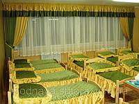 Покрывало на кровать для санаториев, детских садов, домов отдыха, гостинниц, детских лагерей, пансионатов