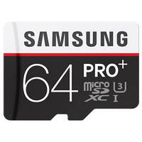 Карта памяти SAMSUNG microSDXC 64GB PRO PLUS UHS-I G3 (R100, W90MB/s)