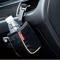Автомобильный держатель Remax Car Seat Storage Bag CS-02 black carbon