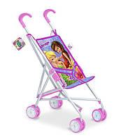 Коляска для кукол Disney - Fairies металлическая летняя, D1001F