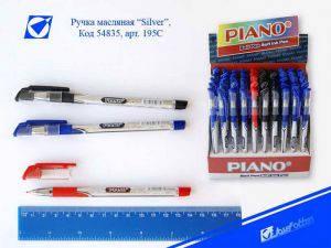 "Ручка шариковая масляная ""Piano"" ""Classic"" черная, фото 2"