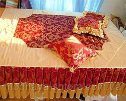 """Дизайнерское покрывало на кровать """"Изюминка"""""""