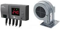 Комплект автоматики для котла KG Elektronik CS-20 + DP-02 (с вентилятором)
