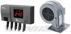 Комплект автоматики KG Elektronik CS-20 + DP-02 для котла (с вентилятором)