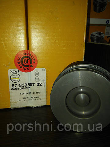 Поршневая  Тransit  2.0 ТDCI  125PS  86 + 0.50   NURAL 87-839507-02