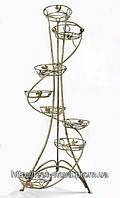 Подставка под цветы S 08 спираль (8 вазонов,Украина)