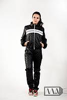 Женский дутый стеганный спортивный костюм. Разные цвета.