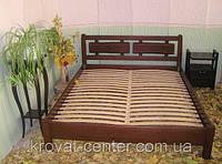 """Кровать для гостиниц """"Магия Дерева"""". Массив - сосна, ольха"""