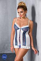 Эротическая сорочка-платье Passion ELENI CHEMISE, 4XL/5XL, 6XL/7XL