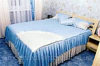 """Дизайнерское покрывало на кровать """"Веер"""""""