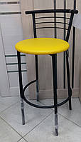 Барный стул Маркос хокер черный с метизами от AMF (сиденья в ассортименте)