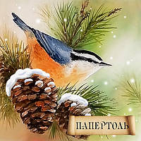 Папертоль Зимняя пташка РТ150100