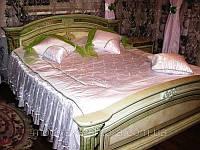 """Дизайнерское покрывало на кровать """"Нежный жемчуг"""""""