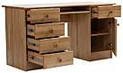 Стол письменный из массива дерева 003, фото 3