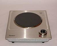 Электроплитка настольная стеклокерамическая Flamberg СС 0301 (нержавейка,1конфорка, возможность вст, фото 1