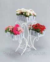 Подставка для цветов Лотос 3 Кантри