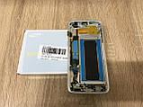Дисплей Samsung S7 Edge SM-G935 Белый White GH97-18533D оригинал!, фото 3